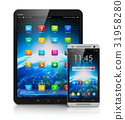 tablet, smartphone, mobile 31958280