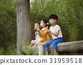 春天的花 僅兒童 朝鮮的 31959518