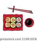 寿司 矢量 矢量图 31961658