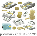 Collection of money set 31962795