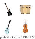Set of musical instruments 31963377