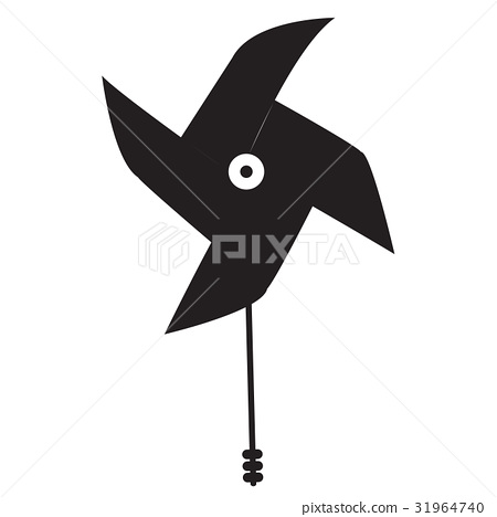 Isolated wind toy 31964740