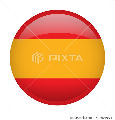Isolated flag of Spain 31964954