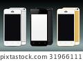 New realistic smartphones set mockups 31966111