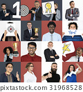 Collage of Diverse Group of Business People 31968528