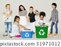 garbage, group, kid 31971012