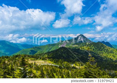 Shiga Takahara Yokoteyama到北阿爾卑斯山的景色 31979421