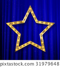 vector transparent golden star 31979648