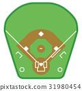 棒球 球场 棒球场 31980454