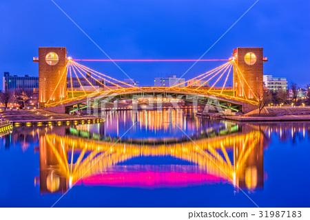 Toyama Japan Bridge 31987183
