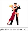 dance, professional, tango 31987921
