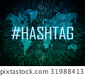 hashtag, media, tag 31988413