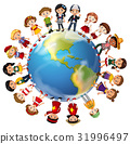 Children from many countries around the world 31996497
