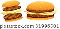 hamburger, cheese, beef 31996501