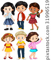 Different characters of boys and girls 31996519