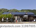 Nagara鐵路火車Gujigahachiman站(2017年恢復) 31997005
