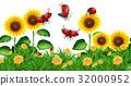 flower bug ladybug 32000952