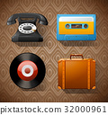 vintage,equipment,technology 32000961