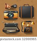 复古 照相机 袋 32000965