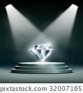 diamond, vector, jewelry 32007165