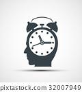 alarm clock vector 32007949