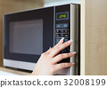 Using microwave oven 32008199