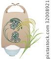 稻穗 水稻 大米包裝袋 32008921
