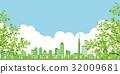 城市风光 城市景观 市容 32009681