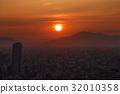 今年的頭一個落日 日出 朝霞 32010358