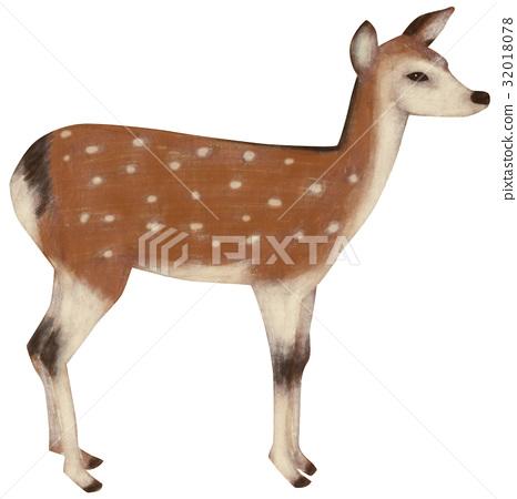 สัตว์,ภาพวาดมือ สัตว์,น่ารัก 32018078