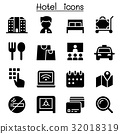 Hotel icons 32018319