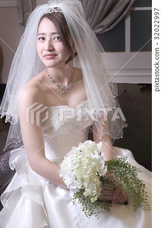 婚紗禮服正面 32022997