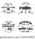 Sport Fishing club. Vector illustration. 32025662