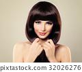 Haircare Concept. Beautiful Fashion Model 32026276