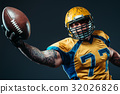football, player, american 32026826