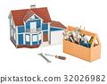修理 概念 工具 32026982