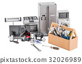 Service and repair of household appliances concept 32026989