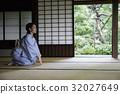 หญิงสาวในชุดกิโมโน _ บ้านพักบ้านโยชิดะเก่า 32027649