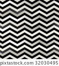 The twin black and white zigzag stripes floor. 32030495