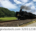 火車 列車 蒸汽火車 32031238