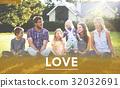 bonding family happiness 32032691