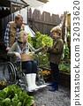 People Planting Harvest Garden Green 32033620