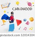 Learning Fun Childhood Imagination Education 32034304