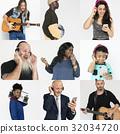 collage, diversity, listening 32034720