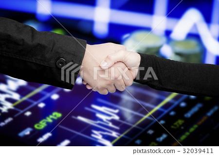 business partnership concept 32039411
