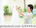 전업 주부 가사 세탁 32044916