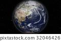 地球儀 土地 土 32046426