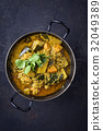 Sweet Potato Curry in Bowl 32049389