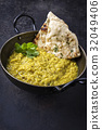 Indian Dal Soup in Bowl 32049406