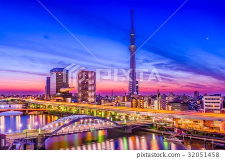 Tokyo, Japan City Skyline 32051458